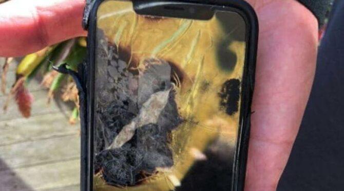 iPhone X cebinde patladı, ikinci derece yanıkla Apple'a dava açtı - Sözcü