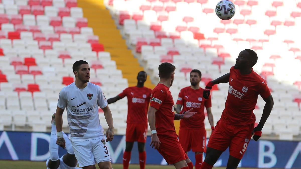 Sivasspor ile Hatayspor serilerine devam etti!
