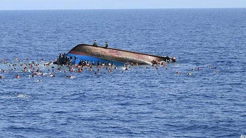 İnsan kaçakçıları göçmenleri denize attı: 20 ölü