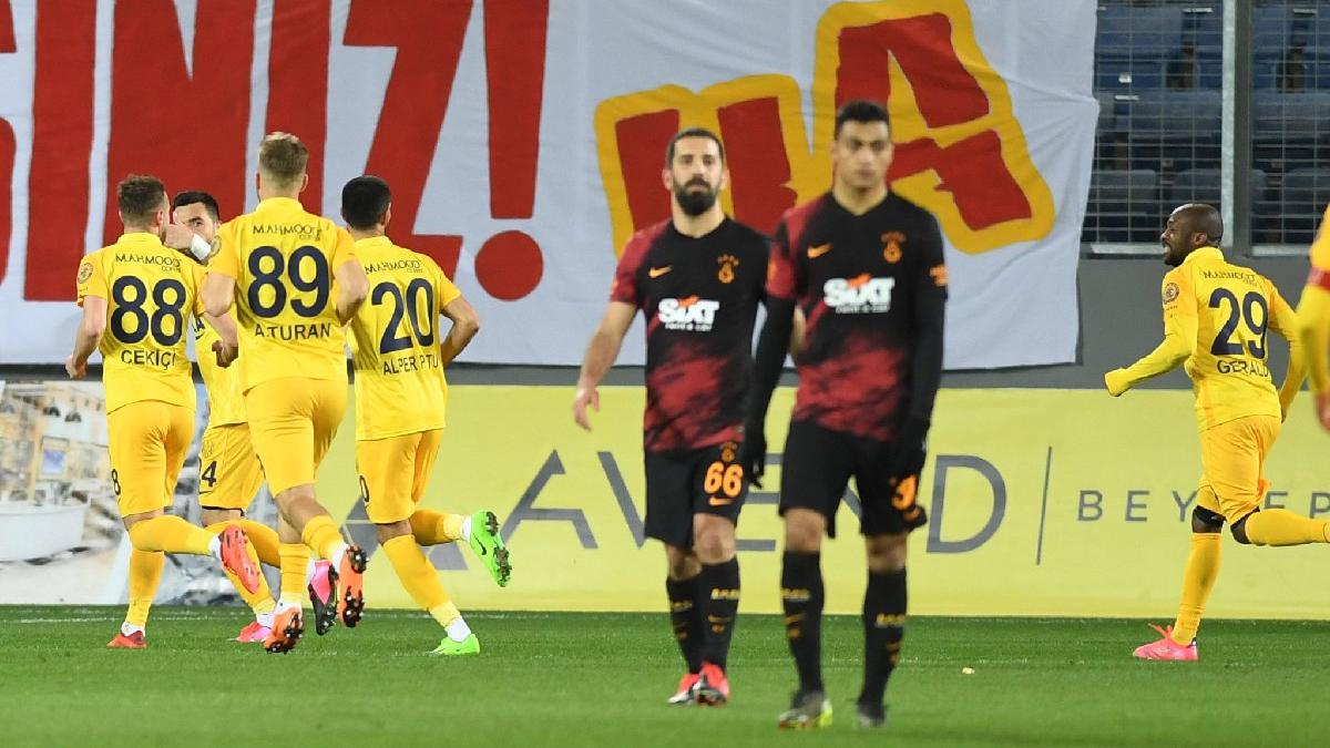 Galatasaray'a Ankaragücü'nden çelme: 2-1