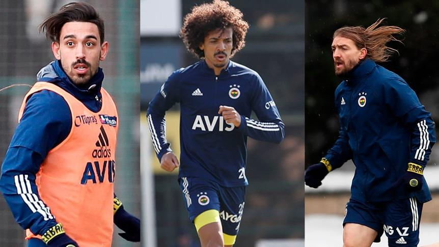 Fenerbahçe'de Caner Erkin, Luiz Gustavo ve İrfan Can kararı