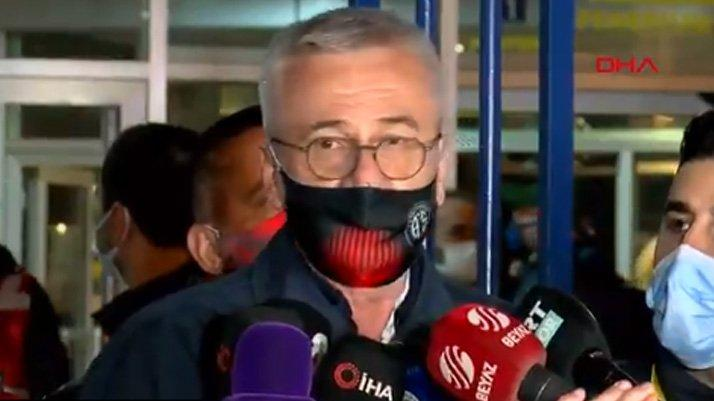 Antalyaspor Kulübü Başkanı Mustafa Yılmaz: Ağır küfürler ettiler
