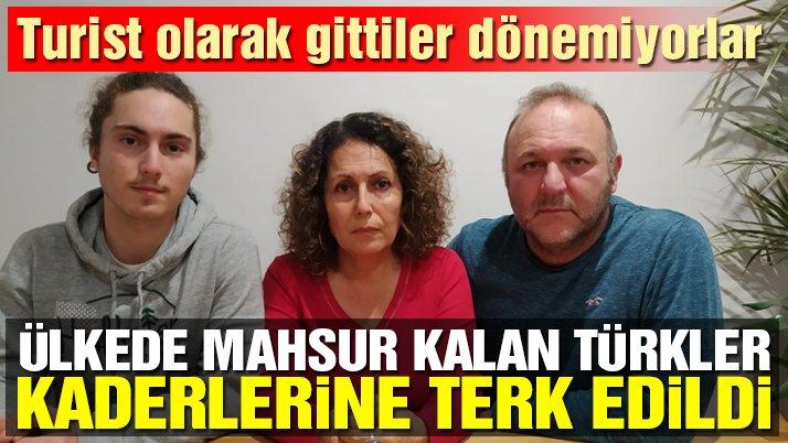 İngiltere'de mahsur kalan Türkler kaderlerine terk edildi