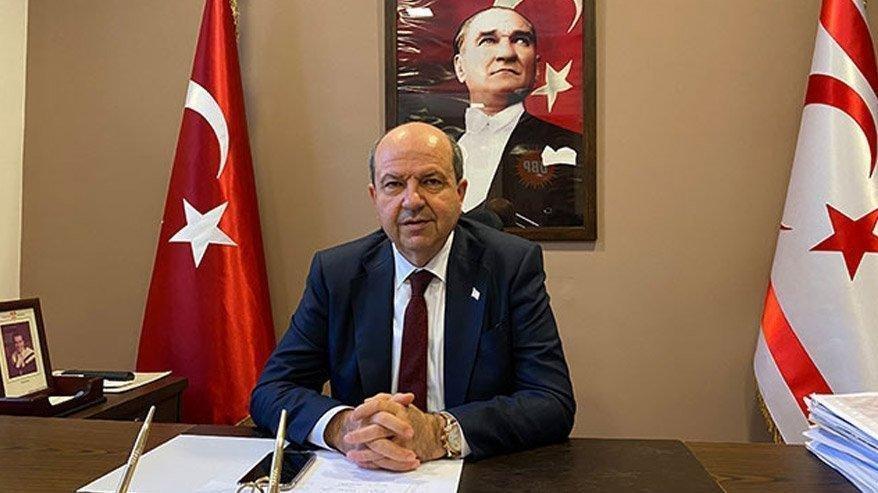 Ersin Tatar: Kıbrıs'ın çözümlenmiş bir mesele olmasını istiyoruz