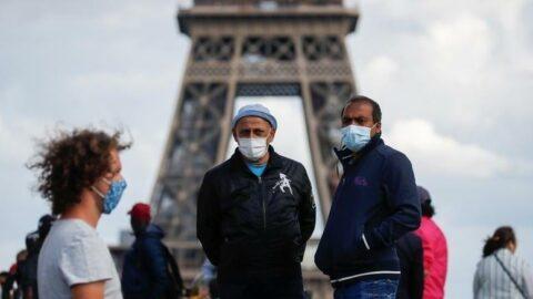 Fransa'da son 24 saatte 23 bin 507 yeni vaka