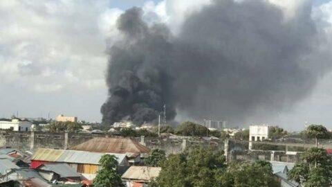 Mogadişu'da liman bölgesinde patlama