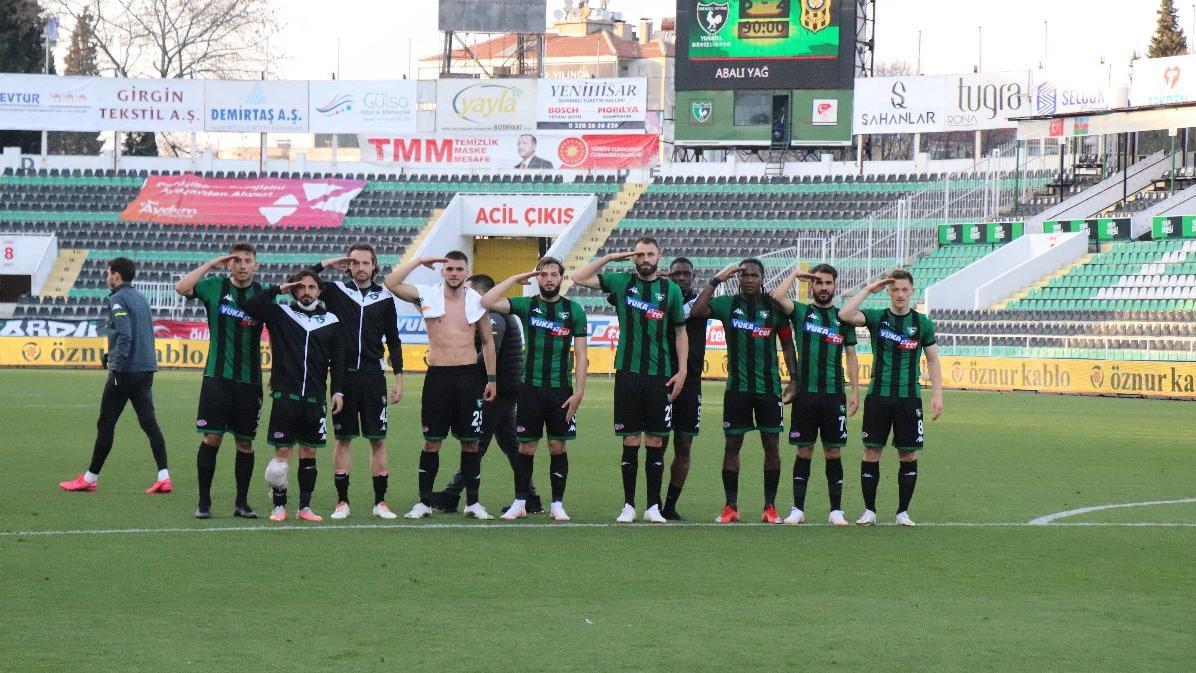 Gol düellosunda kazanan Denizlispor! Yeni Malatyaspor yetişemedi...