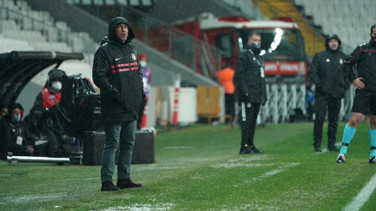 Sa Pinto, Beşiktaş'a ilk kez yenildi