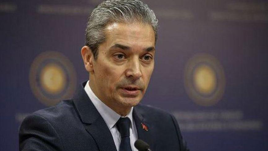 Dışişleri Sözcüsü Hami Aksoy'dan Libya açıklaması