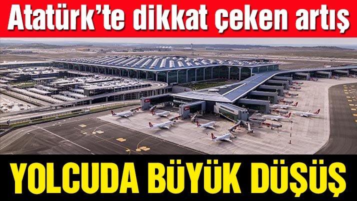 İstanbul Havalimanı'nda yolcu sayısı şubatta yüzde 66 azaldı