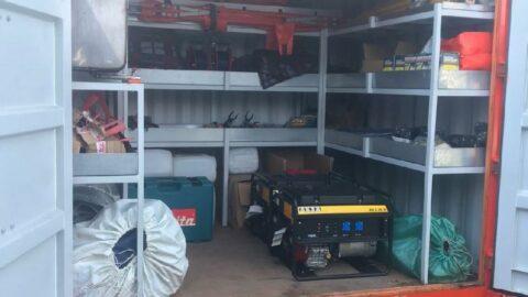 İstanbul'da deprem konteynerleri hırsızların hedefi oldu