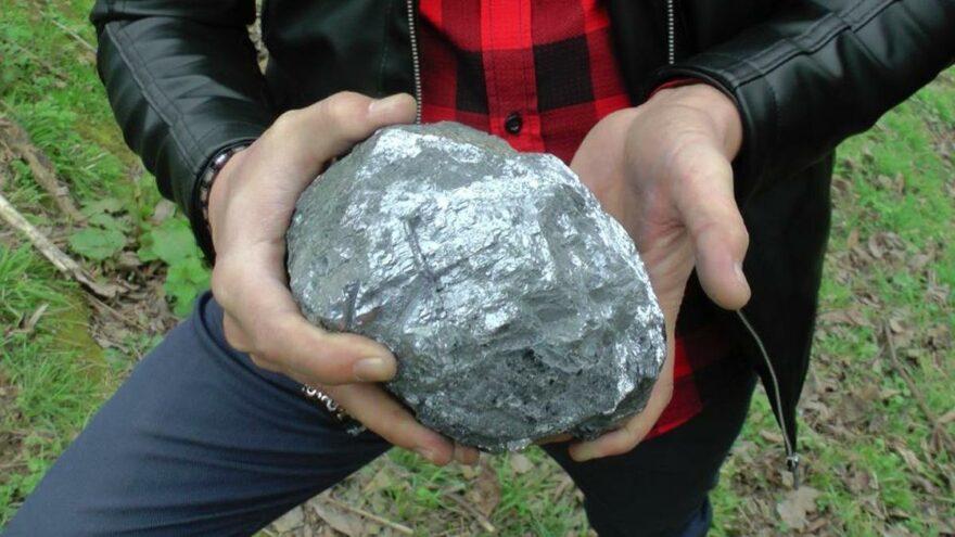 Mangal yaparken buldular, 9.5 kilo ağırlığında