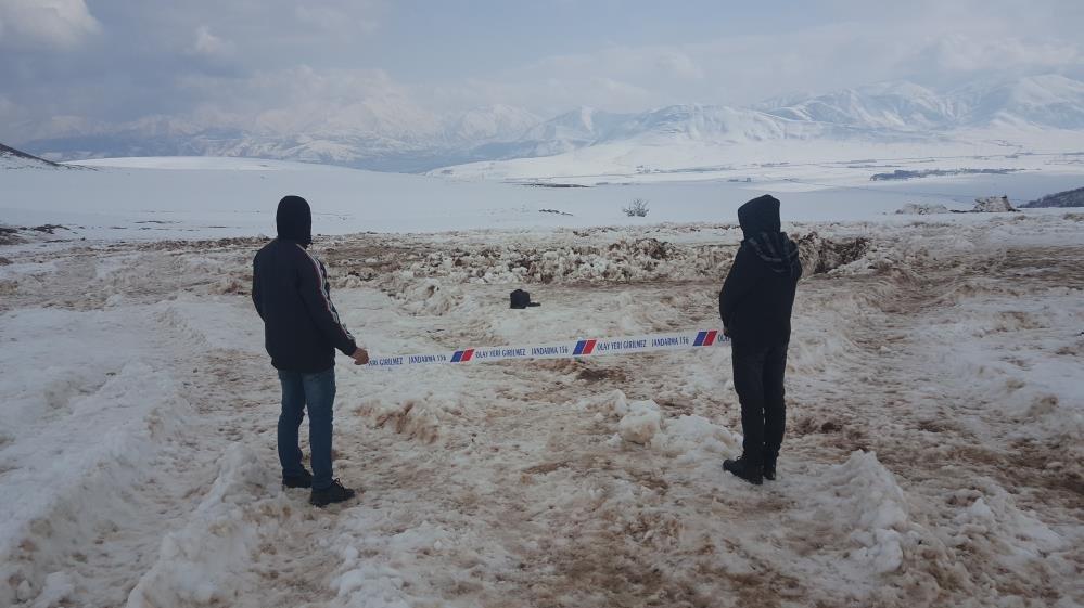 Helikopter kazasının yaşandığı alan görüntülendi