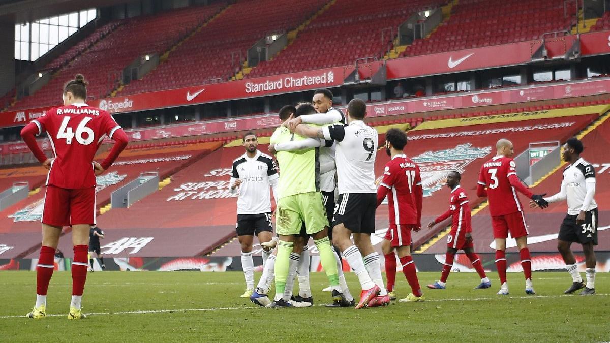 Liverpool'da tarihi yıkım! Anfield'da üst üste 6'ıncı yenilgi...