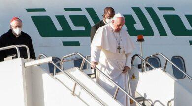 Papa Francis'in turu devam ediyor: Erbil'e indi