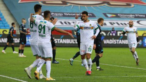 Alanyaspor, Trabzonspor'u Davidson ile avladı!
