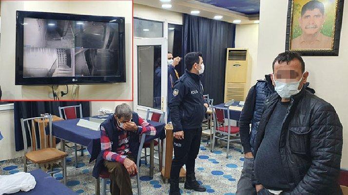 Güvenlik kameralı kumarhaneye baskın: Ceza yağdı