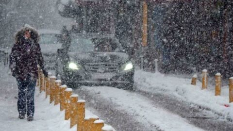 Birçok kente yoğun kar uyarısı
