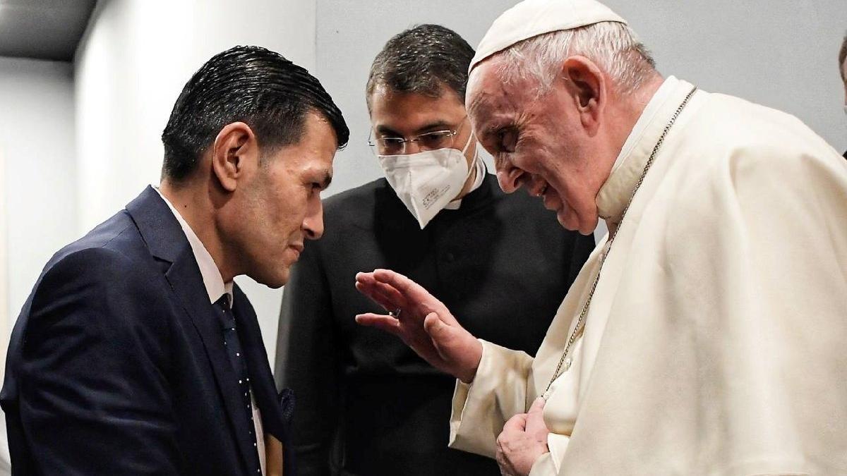 Aylan'ın babasından Papa'ya dikkat çeken tablo
