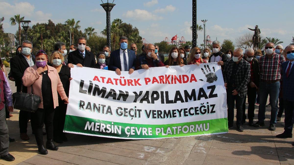'Mersin Limanı genişletmesi hukuksuz'