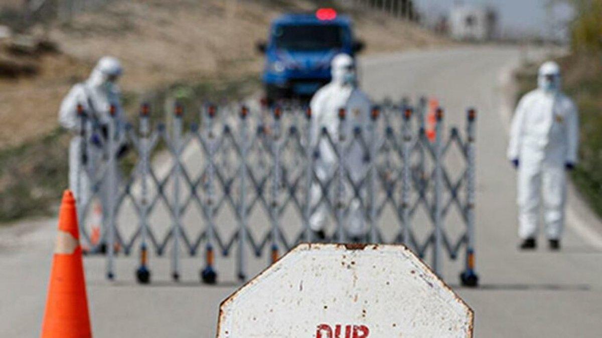 19 kişinin testi pozitif çıkınca iki köy karantinaya alındı