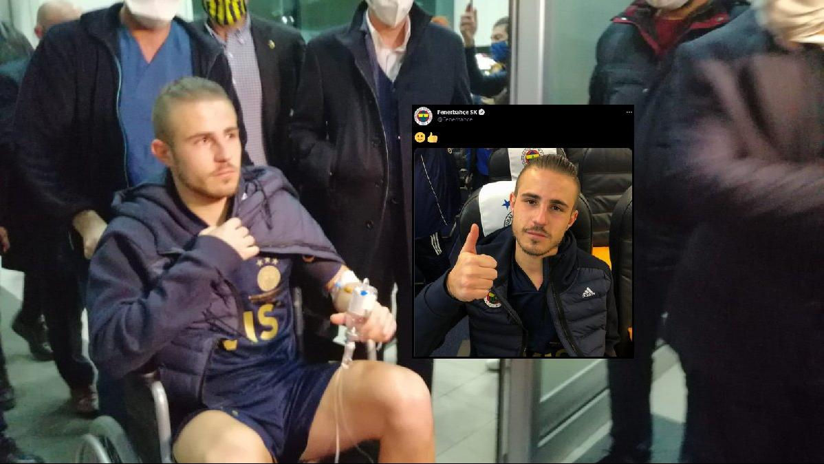 Fenerbahçe'nin yıldızı Pelkas'tan haber var! Bilinci kapanmıştı...