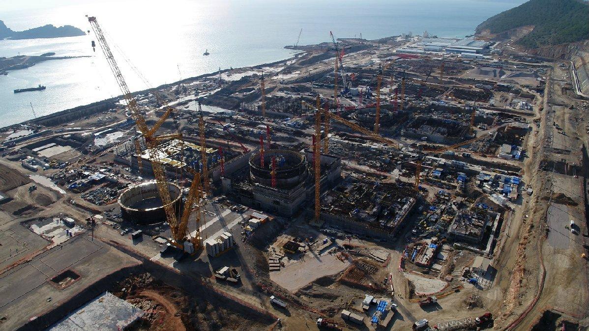 Akkuyu Nükleer Santrali nerede, nereye inşa ediliyor