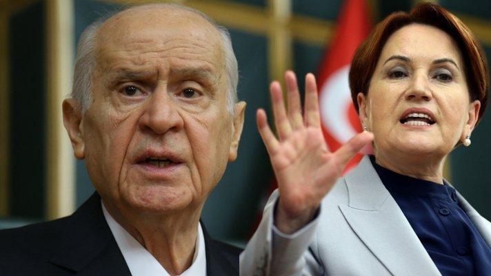 Devlet Bahçeli'den Meral Akşener'e sert tepki