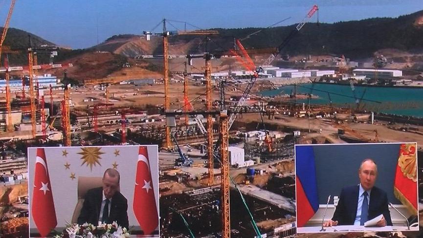 Recep Tayyip Erdoğan: Akkuyu NGS hamlemizle enerjide ülkemizin yarınlarını garantiye almayı hedefliyoruz