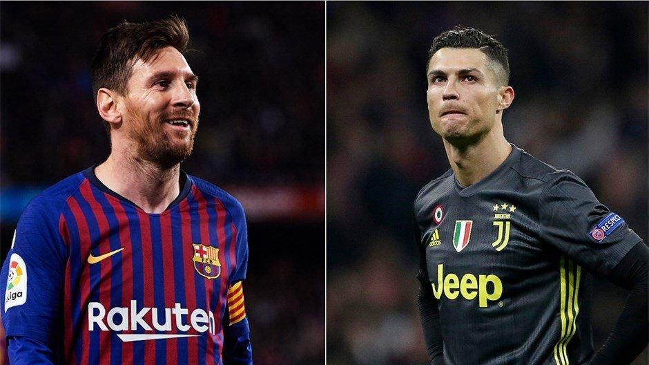 Messi ve Ronaldo 16 yıl sonra ilk kez Şampiyonlar Ligi'ne erken veda etti
