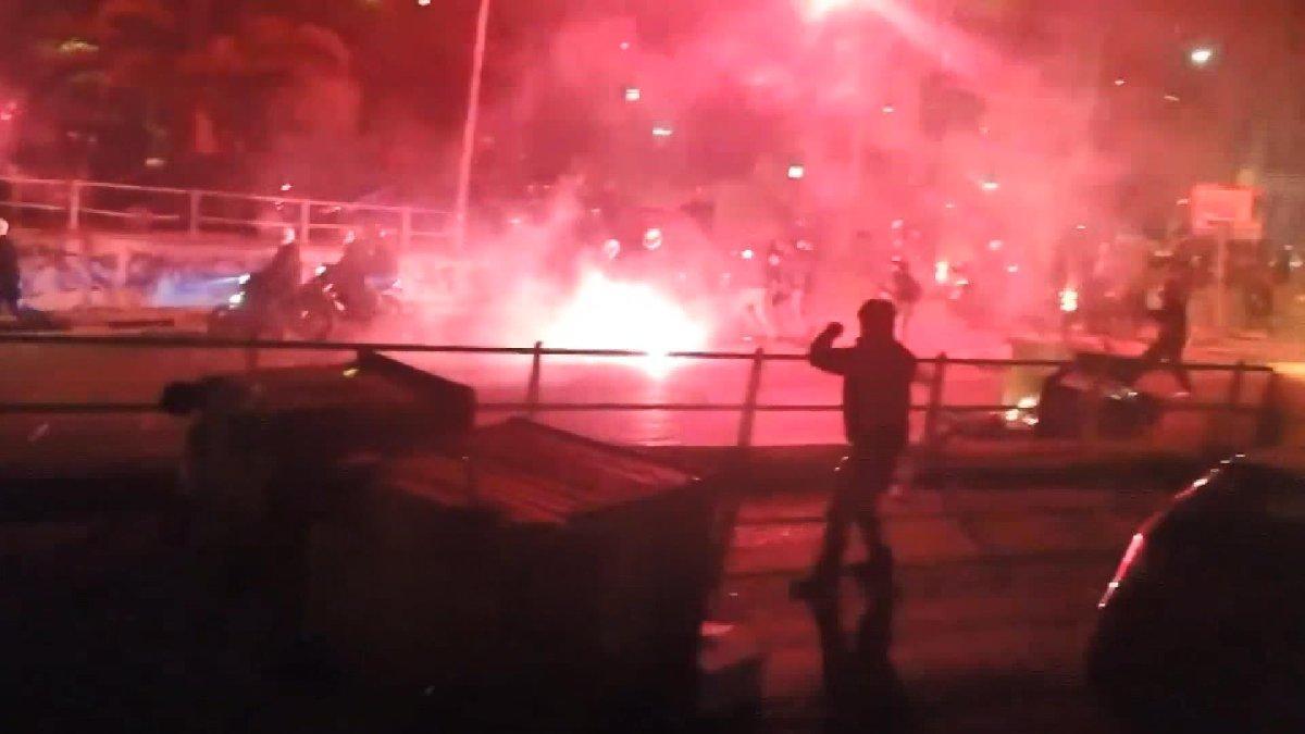 Yunanistan'da polis şiddetine büyük tepki