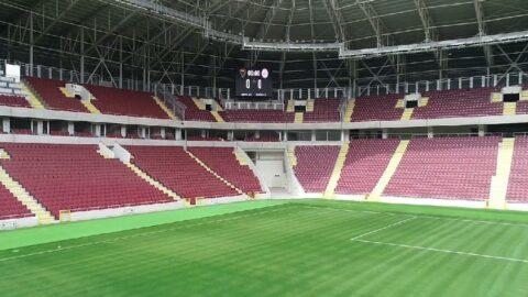 Hatay Stadı artık Hatayspor'un