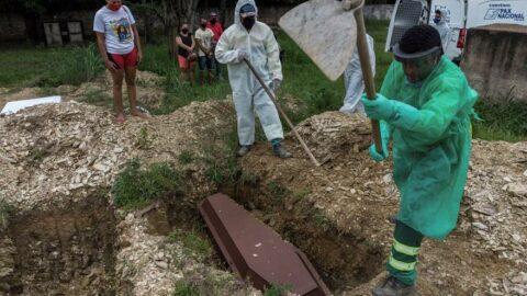 Brezilya'da bir ilk yaşandı: Coronadan ölenlerin sayısı katlandı