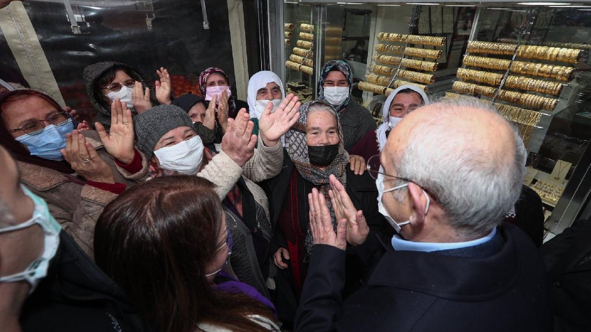 Kılıçdaroğlu ile üretici kadınlar arasında dikkat çeken diyalog: Kurtarın artık insanları