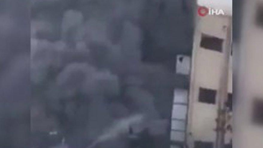 Mısır'da fabrika yangını: 20 ölü