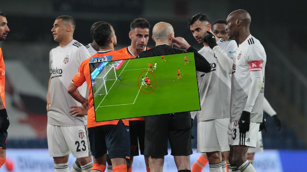 Beşiktaş'tan penaltı tepkisi: 'Bize verilmesi yasak herhalde'
