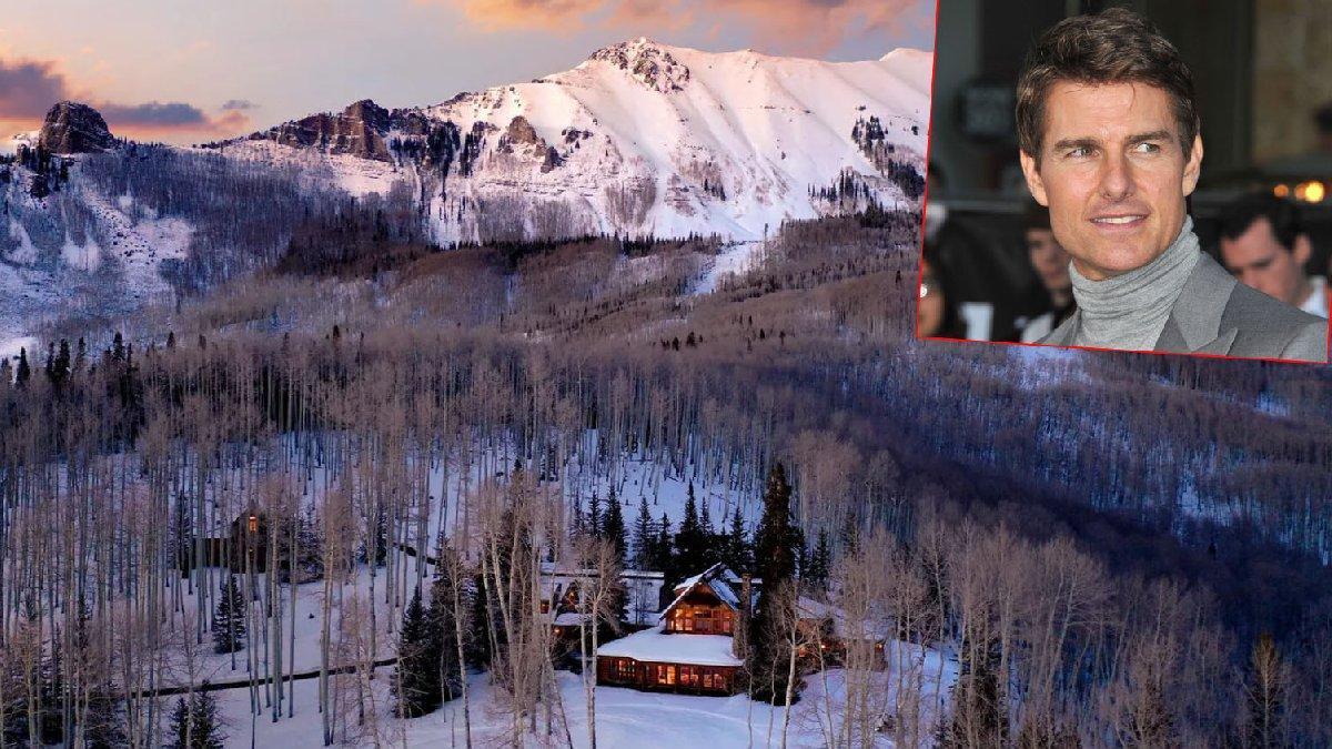 Tom Cruise dağ evini bir türlü satamıyor... Fiyatı neredeyse yarısına indirdi