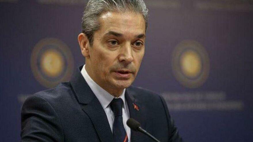 Dışişleri Sözcüsü Aksoy'dan Yunanistan'a tepki