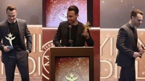 Ödül töreninde Bay J'den Kerem Bürsin'e olay sözler!