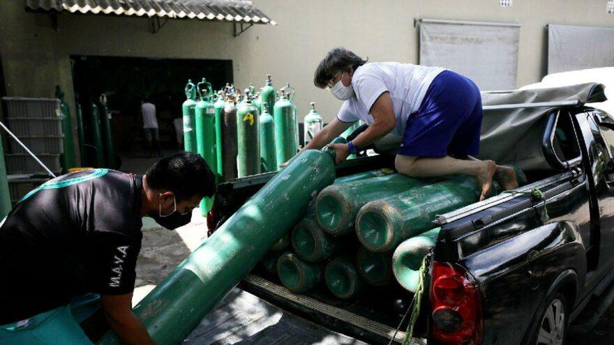 Corona salgınıyla zirve yaptı: Dünya oksijen bulamıyor