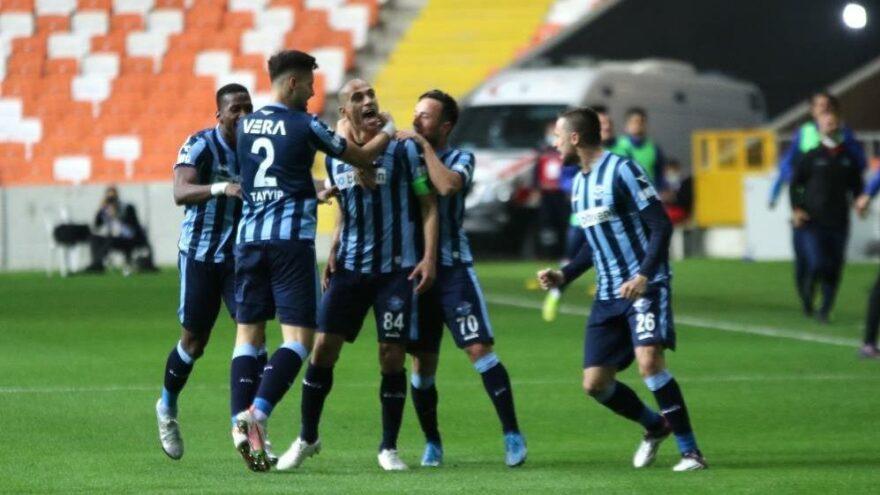 Adana Demirspor'dan kritik zafer