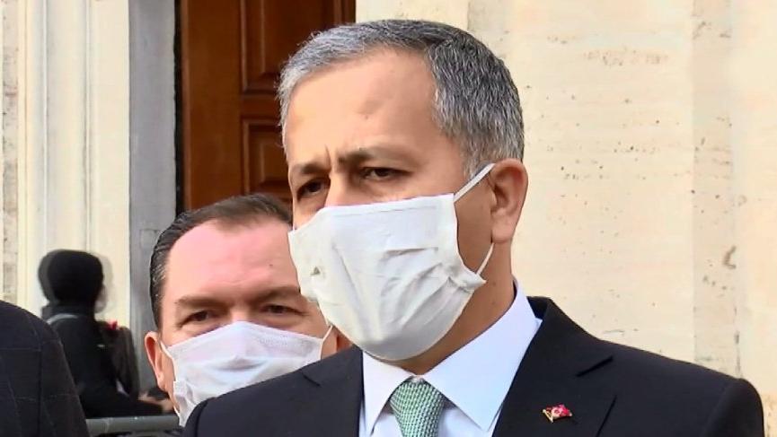 İstanbul Valisi Ali Yerlikaya'dan aşı ve kısıtlamalarla ilgili açıklama
