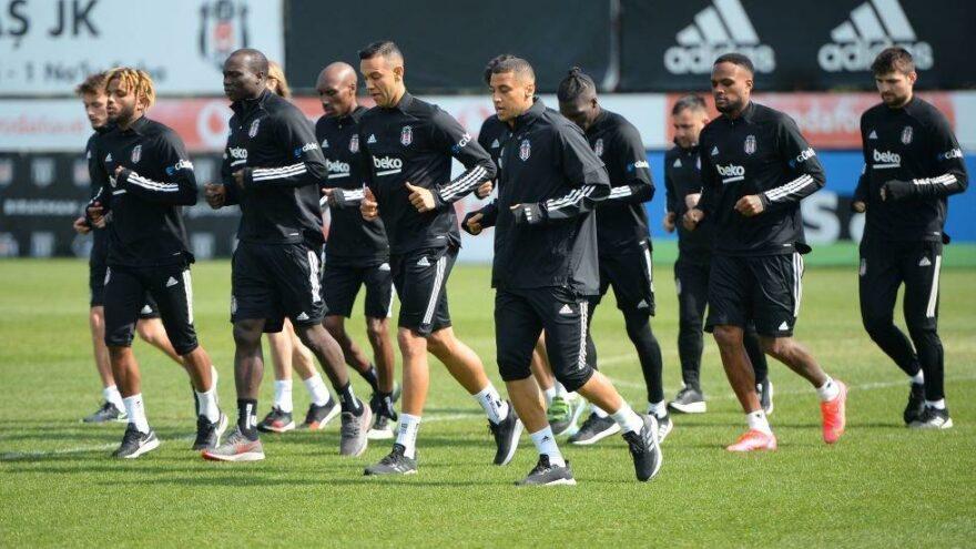 Lider Beşiktaş'ta kupa mesaisi başladı