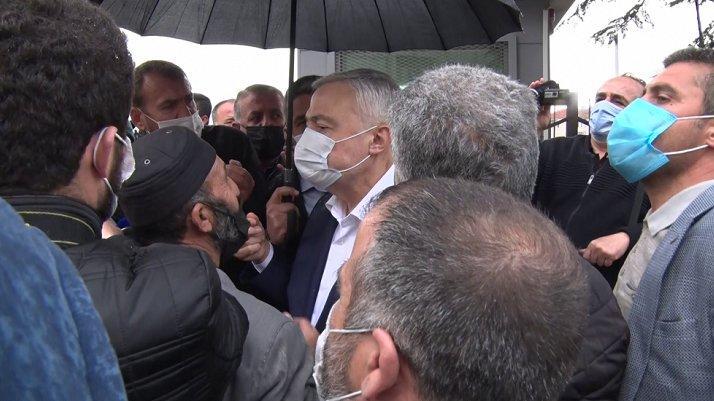 AKP'li vekil depremzedelere çıkıştı