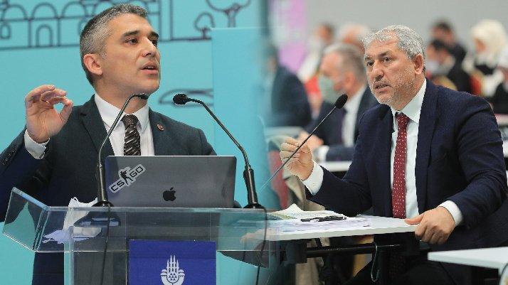 İBB Meclisi'nde dikkat çeken atışma: Yallah Silivri'ye