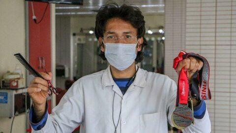 Doktor tavsiyesiyle koşmaya başladı, 3 yıldır maratona katılıyor