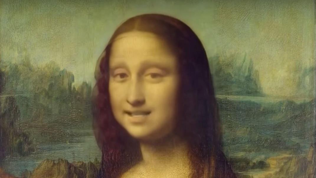 Dünyaca ünlü tablolar 'deepfake' ile canlandı