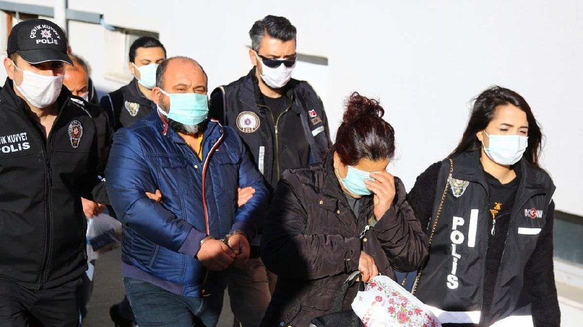 İcralık araç çetesi üyesi emekli icra müdiresi maskeyle gizlendi