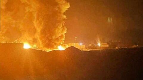 Suriye'de balistik füze saldırısı