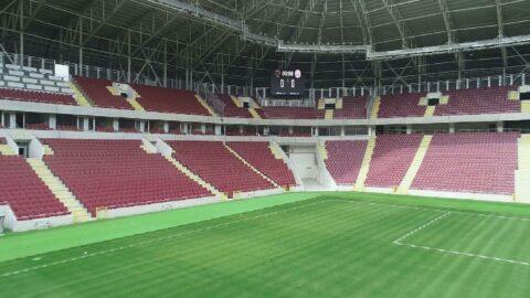 Yeni stadyum Fenerbahçe ile yapılacak özel maçla açılacak